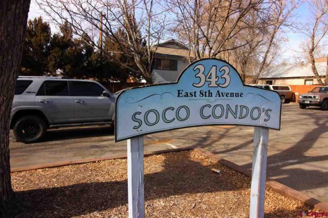 343 E 8th Avenue #5, Durango, CO 81301 (MLS #741226) :: Durango Mountain Realty