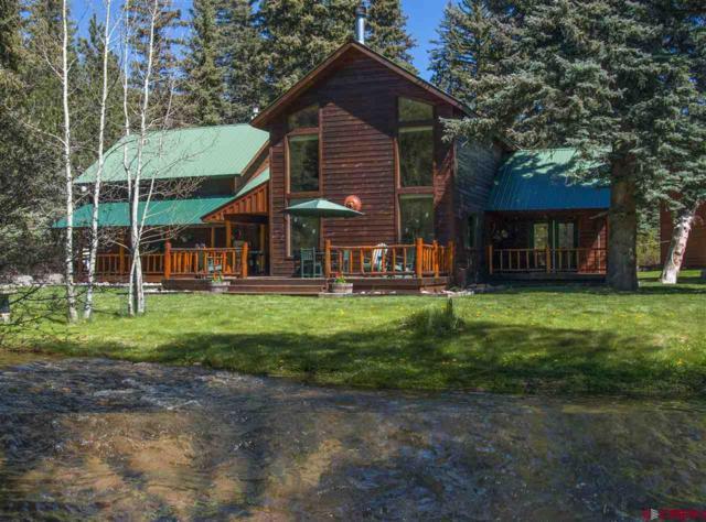 89 W Grimes Creek, Vallecito Lake/Bayfield, CO 81122 (MLS #742629) :: Durango Home Sales