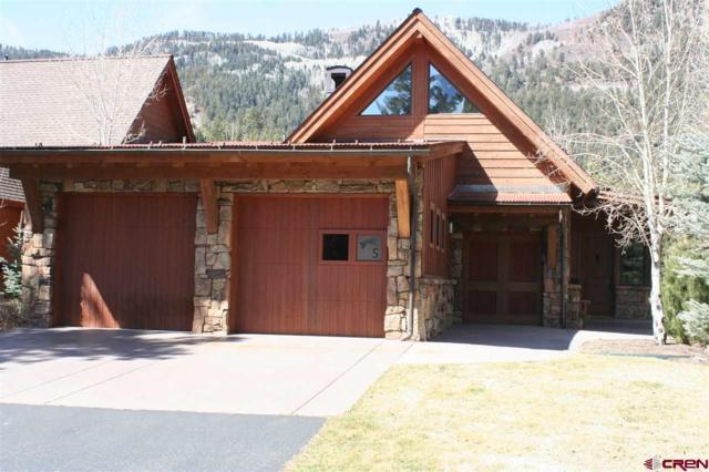665 Glacier Club Drive Showdown #5, Durango, CO 81301 (MLS #743333) :: Durango Mountain Realty