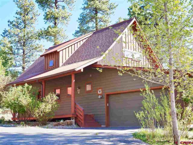 81 Red Canyon Trail C, Durango, CO 81301 (MLS #745393) :: Durango Mountain Realty
