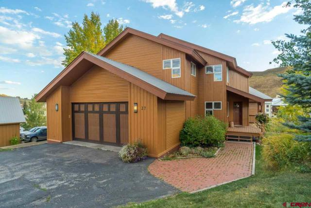 27 Treasury Road, Mt. Crested Butte, CO 81225 (MLS #746341) :: Durango Home Sales
