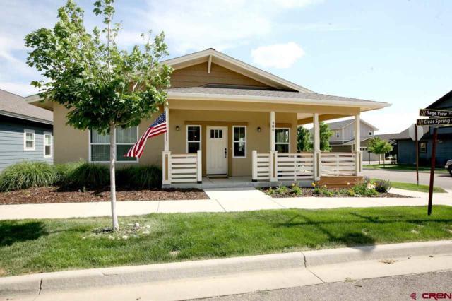 306 Sage View Street, Durango, CO 81301 (MLS #746720) :: Durango Home Sales