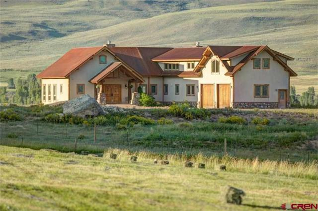 1141 County Road 818, Gunnison, CO 81230 (MLS #746908) :: Durango Home Sales