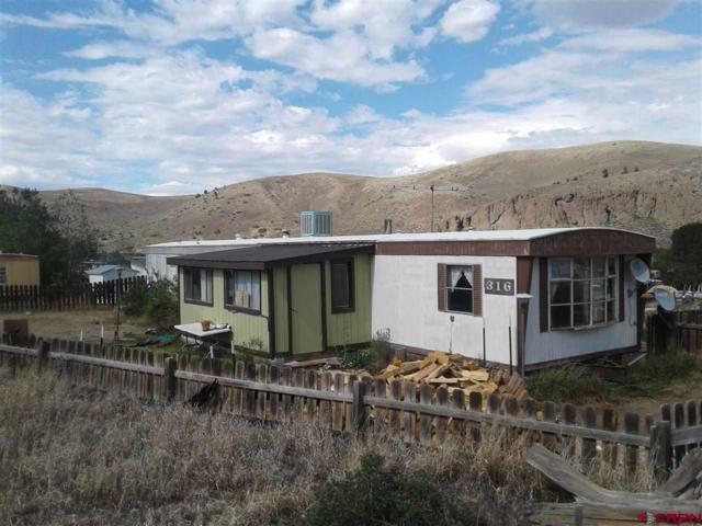 316 Mesa Loop, Gunnison, CO 81230 (MLS #748021) :: The Dawn Howe Real Estate Network | Keller Williams Colorado West Realty