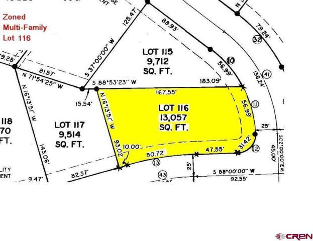 Lot 116 Cirque Way, Montrose, CO 81401 (MLS #748703) :: CapRock Real Estate, LLC