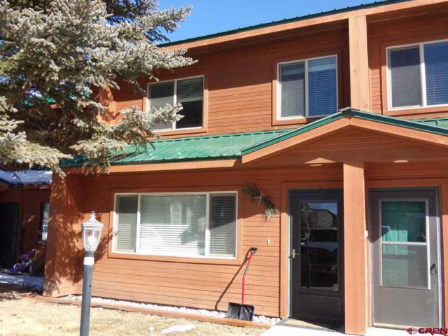 302 Talisman Drive #39, Pagosa Springs, CO 81147 (MLS #749861) :: CapRock Real Estate, LLC