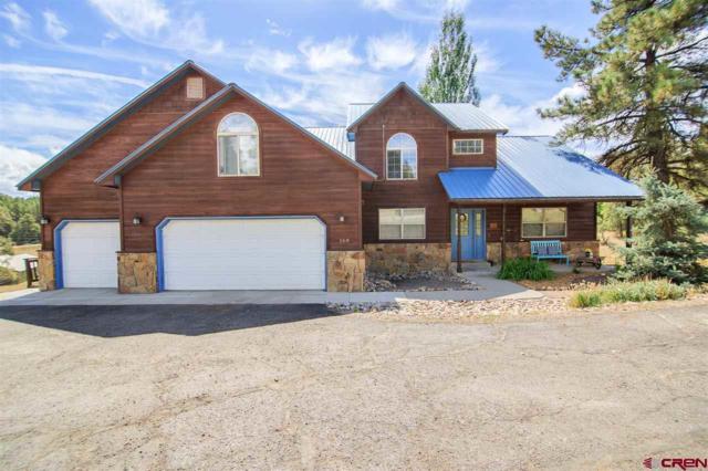 168 Capitan Circle, Pagosa Springs, CO 81147 (MLS #750091) :: Durango Home Sales