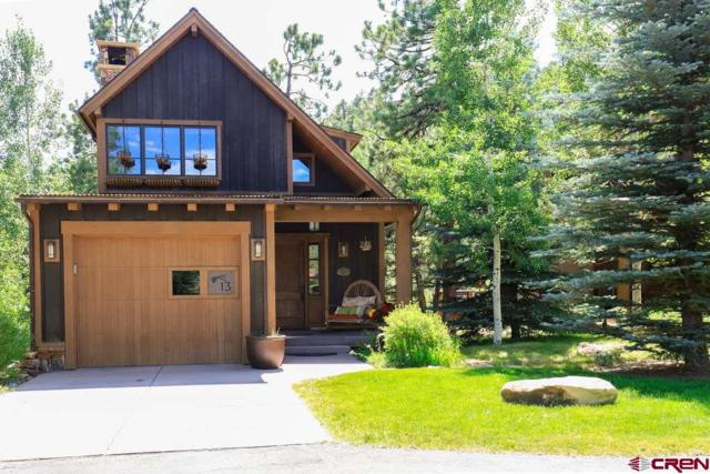 590 Glacier Club Drive Unit# 13, Durango, CO 81301 (MLS #750706) :: Durango Home Sales