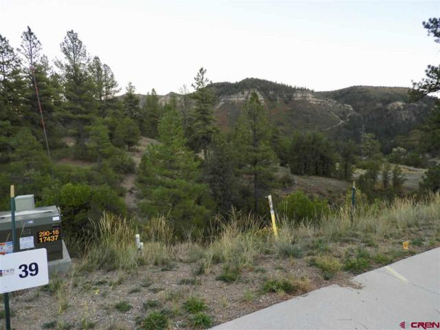 57 (Lot 39) Wood Rose Lane, Durango, CO 81301 (MLS #750713) :: Durango Mountain Realty