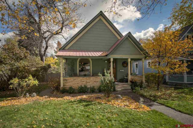 436 E 3rd Avenue, Durango, CO 81301 (MLS #751940) :: Keller Williams CO West / Mountain Coast Group