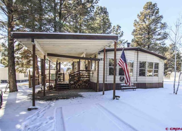 82 Bonanza Avenue, Pagosa Springs, CO 81147 (MLS #752711) :: Durango Home Sales