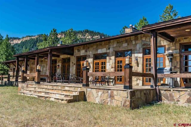 944 Spring Valley Ranch Road, Pagosa Springs, CO 81147 (MLS #753493) :: Durango Home Sales
