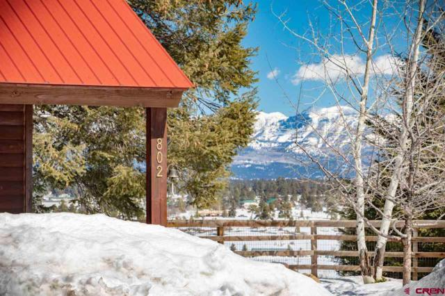 802 Carino Pl, Pagosa Springs, CO 81147 (MLS #755179) :: The Dawn Howe Group | Keller Williams Colorado West Realty