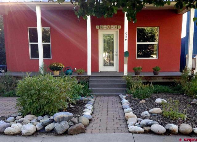549 E 5th Avenue, Durango, CO 81301 (MLS #755681) :: The Dawn Howe Group | Keller Williams Colorado West Realty