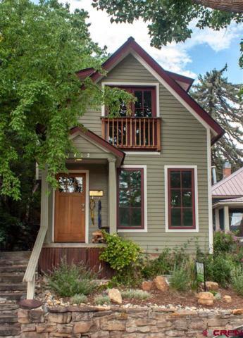 1052 5th Avenue, Durango, CO 81301 (MLS #760524) :: Durango Mountain Realty