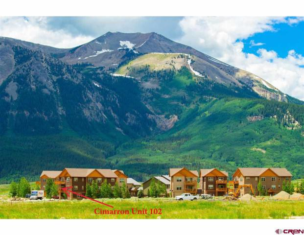 212 S Avion Drive #102, Crested Butte, CO 81224 (MLS #760711) :: The Dawn Howe Group | Keller Williams Colorado West Realty