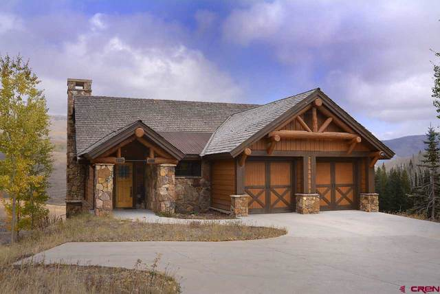 41 Wildhorse Trail, Mt. Crested Butte, CO 81225 (MLS #763821) :: The Dawn Howe Group | Keller Williams Colorado West Realty