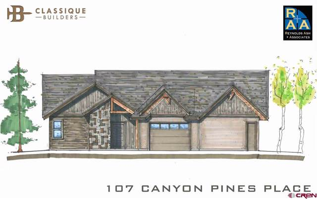 107 Canyon Pines Place, Durango, CO 81301 (MLS #763863) :: The Dawn Howe Group | Keller Williams Colorado West Realty