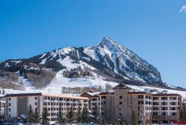 6 Emmons Road #504, Mt. Crested Butte, CO 81225 (MLS #764517) :: The Dawn Howe Group | Keller Williams Colorado West Realty