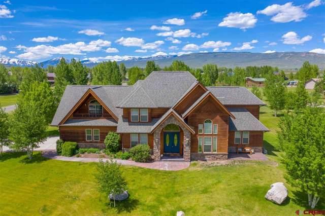 386 Meadow Lark Trail, Gunnison, CO 81230 (MLS #764993) :: The Dawn Howe Group | Keller Williams Colorado West Realty