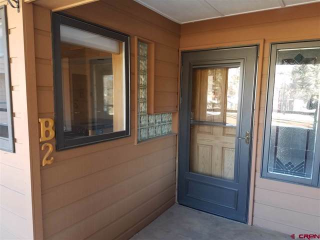 399 W Park Avenue B2, Durango, CO 81301 (MLS #765635) :: Durango Mountain Realty
