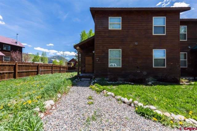 110 Floyd Avenue B, Crested Butte, CO 81224 (MLS #765720) :: The Dawn Howe Group | Keller Williams Colorado West Realty