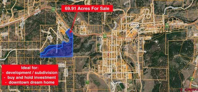 X Great West Avenue, Pagosa Springs, CO 81147 (MLS #765837) :: The Dawn Howe Group | Keller Williams Colorado West Realty
