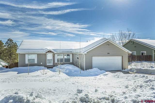 191 Trailwood Drive, Durango, CO 81303 (MLS #766153) :: Durango Mountain Realty