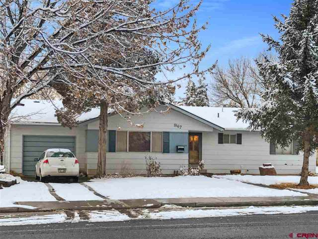 947 S 12th Street, Montrose, CO 81401 (MLS #766197) :: The Dawn Howe Group | Keller Williams Colorado West Realty