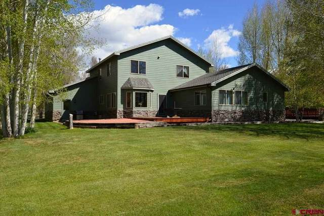 482 Tomichi Trail, Gunnison, CO 81230 (MLS #769594) :: The Dawn Howe Group | Keller Williams Colorado West Realty