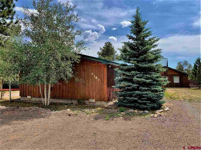 180 Spruce Drive, South Fork, CO 81154 (MLS #771301) :: The Dawn Howe Group | Keller Williams Colorado West Realty