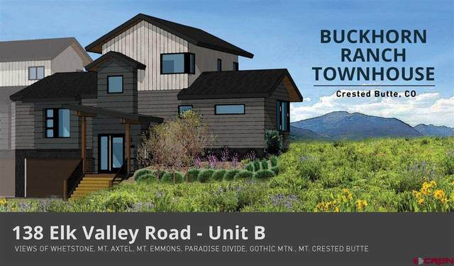 138 Elk Valley Road B, Crested Butte, CO 81224 (MLS #772241) :: The Dawn Howe Group | Keller Williams Colorado West Realty