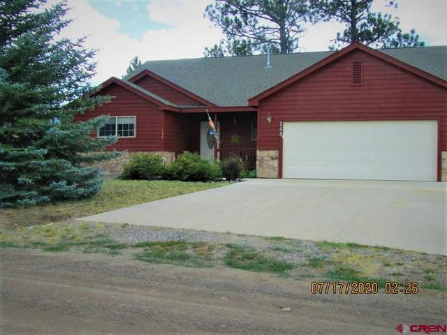 246 Morro Circle, Pagosa Springs, CO 81147 (MLS #772454) :: The Dawn Howe Group | Keller Williams Colorado West Realty