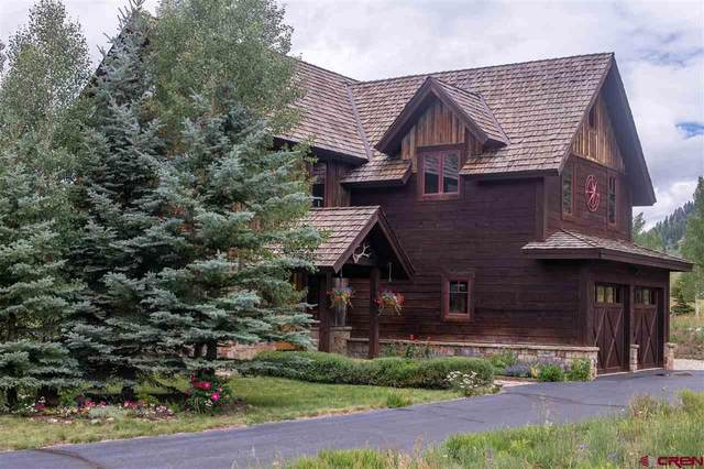 222 Trent Jones Way, Crested Butte, CO 81224 (MLS #772589) :: The Dawn Howe Group | Keller Williams Colorado West Realty