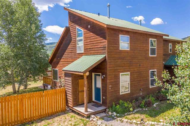 110 Floyd Avenue B, Crested Butte, CO 81224 (MLS #772750) :: The Dawn Howe Group | Keller Williams Colorado West Realty