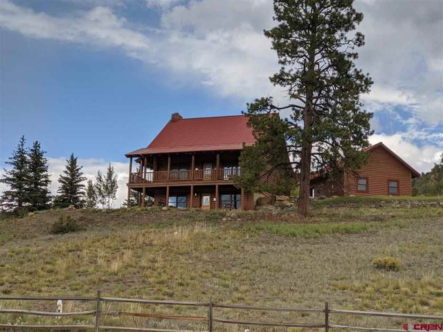 170 Brave Court, Pagosa Springs, CO 81147 (MLS #774910) :: The Dawn Howe Group | Keller Williams Colorado West Realty