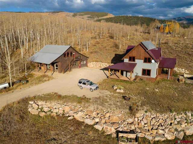 393 Lower Highlands Road, Crested Butte, CO 81224 (MLS #775518) :: The Dawn Howe Group | Keller Williams Colorado West Realty