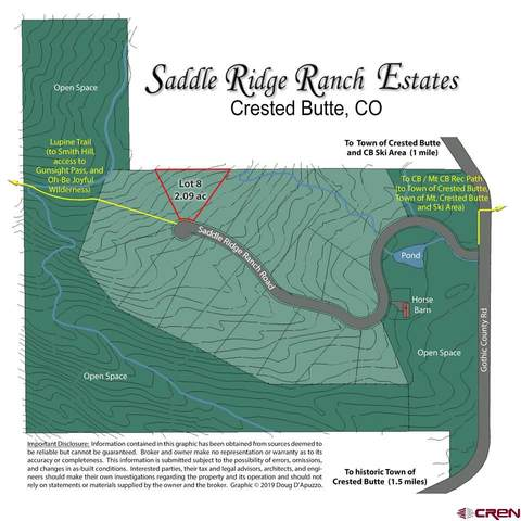 549 Saddle Ridge Ranch Road, Crested Butte, CO 81224 (MLS #776065) :: The Howe Group   Keller Williams Colorado West Realty