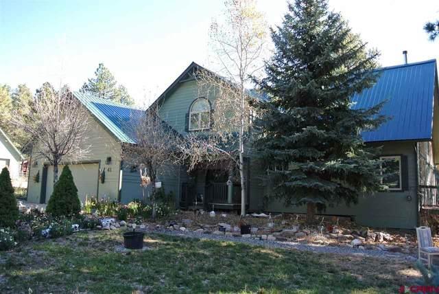 41 Perro Place, Durango, CO 81301 (MLS #776166) :: Durango Mountain Realty