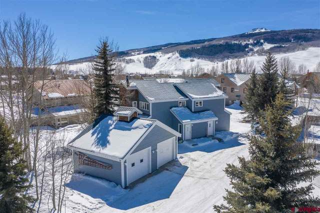 28 Escalante St. #1, Crested Butte, CO 81224 (MLS #779309) :: The Dawn Howe Group | Keller Williams Colorado West Realty