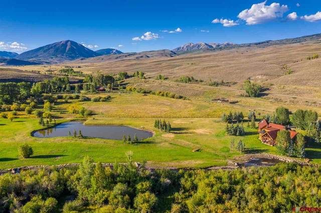 8775 County Road 730, Gunnison, CO 81230 (MLS #781487) :: The Dawn Howe Group | Keller Williams Colorado West Realty