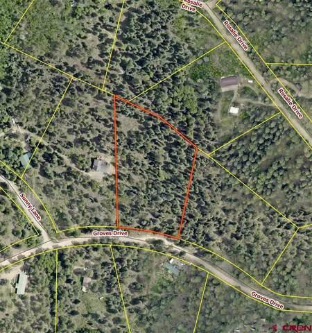 TBD Groves Drive, Durango, CO 81303 (MLS #782670) :: Durango Mountain Realty