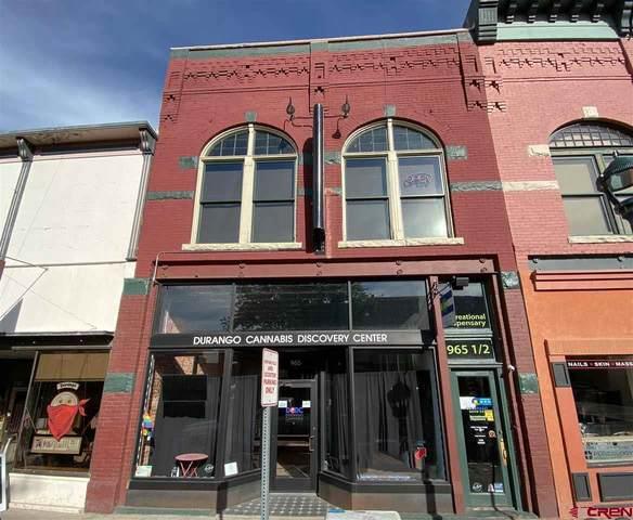 965 Main Avenue Condominiums 96, Durango, CO 81301 (MLS #782934) :: Durango Mountain Realty