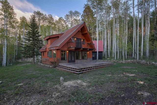654 Woods Road, Placerville, CO 81430 (MLS #783013) :: The Howe Group | Keller Williams Colorado West Realty