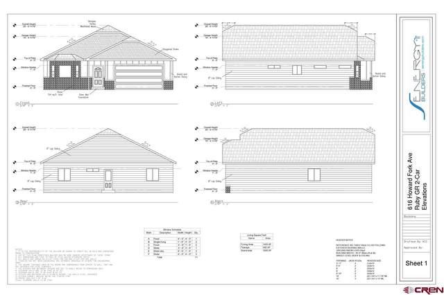 616 Howard Fork Avenue, Montrose, CO 81401 (MLS #785111) :: Dawn Howe Group   Keller Williams Colorado West Realty