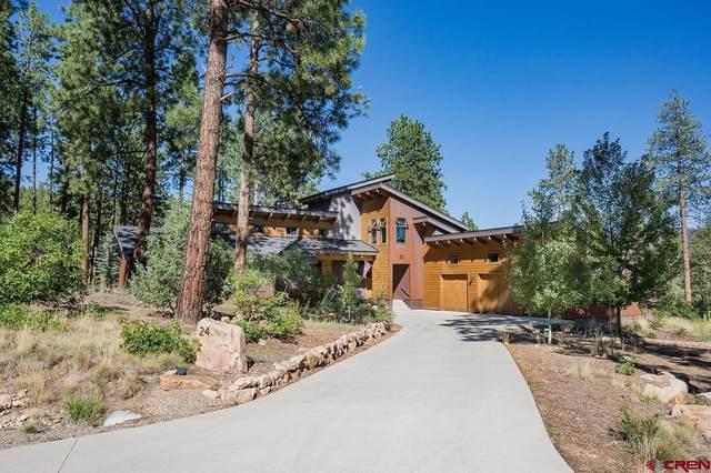 24 Monarch Crest Trail, Durango, CO 81301 (MLS #786404) :: Durango Mountain Realty