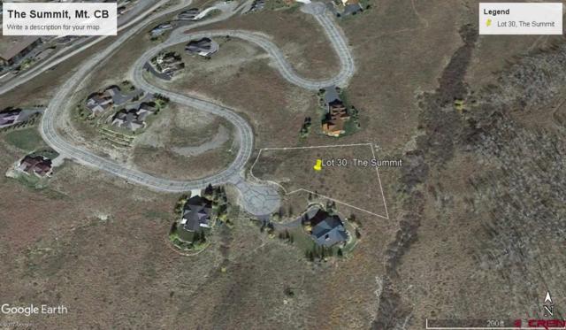 1 Summit Ct. Road, Mt. Crested Butte, CO 81225 (MLS #738741) :: CapRock Real Estate, LLC