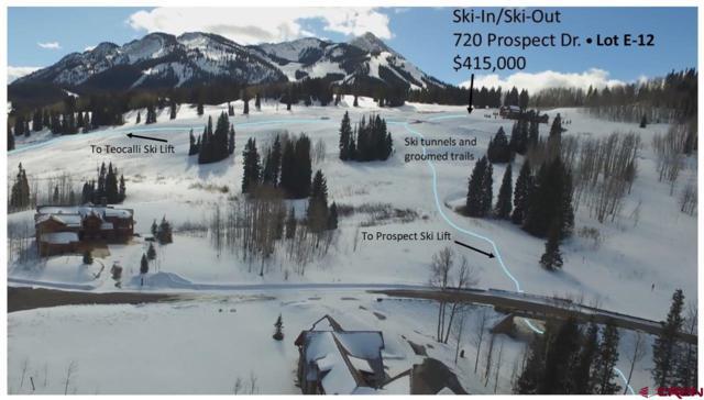 720 Prospect Drive, Mt. Crested Butte, CO 81225 (MLS #739930) :: CapRock Real Estate, LLC