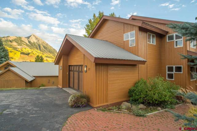 27 Treasury Road, Mt. Crested Butte, CO 81225 (MLS #746341) :: CapRock Real Estate, LLC