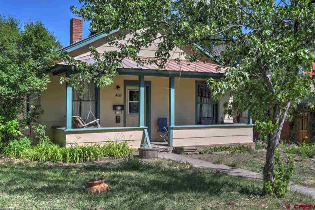 468 E 3rd Avenue, Durango, CO 81301 (MLS #747292) :: CapRock Real Estate, LLC